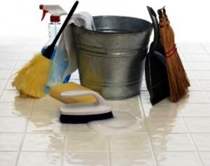 как очистить пол из керамической плитки