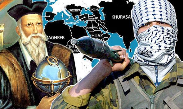 пророчество Нострадамуса о пояалении ИГ
