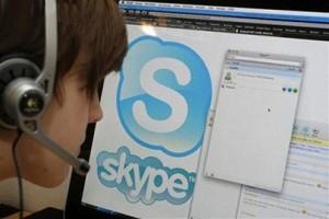 Skype дал сбой по всему миру