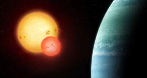 Обнаружена планета, вращающаяся по орбитам двух звезд