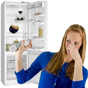 как убрать не приятный запах из холодильника