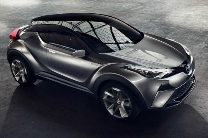 в 2016 году Toyota представит кроссовер C-HR
