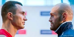 Где и когда смотреть бой Кличко - Фьюри