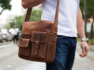 Мужская кожаная сумка - стильный аксессуар современного мужчины