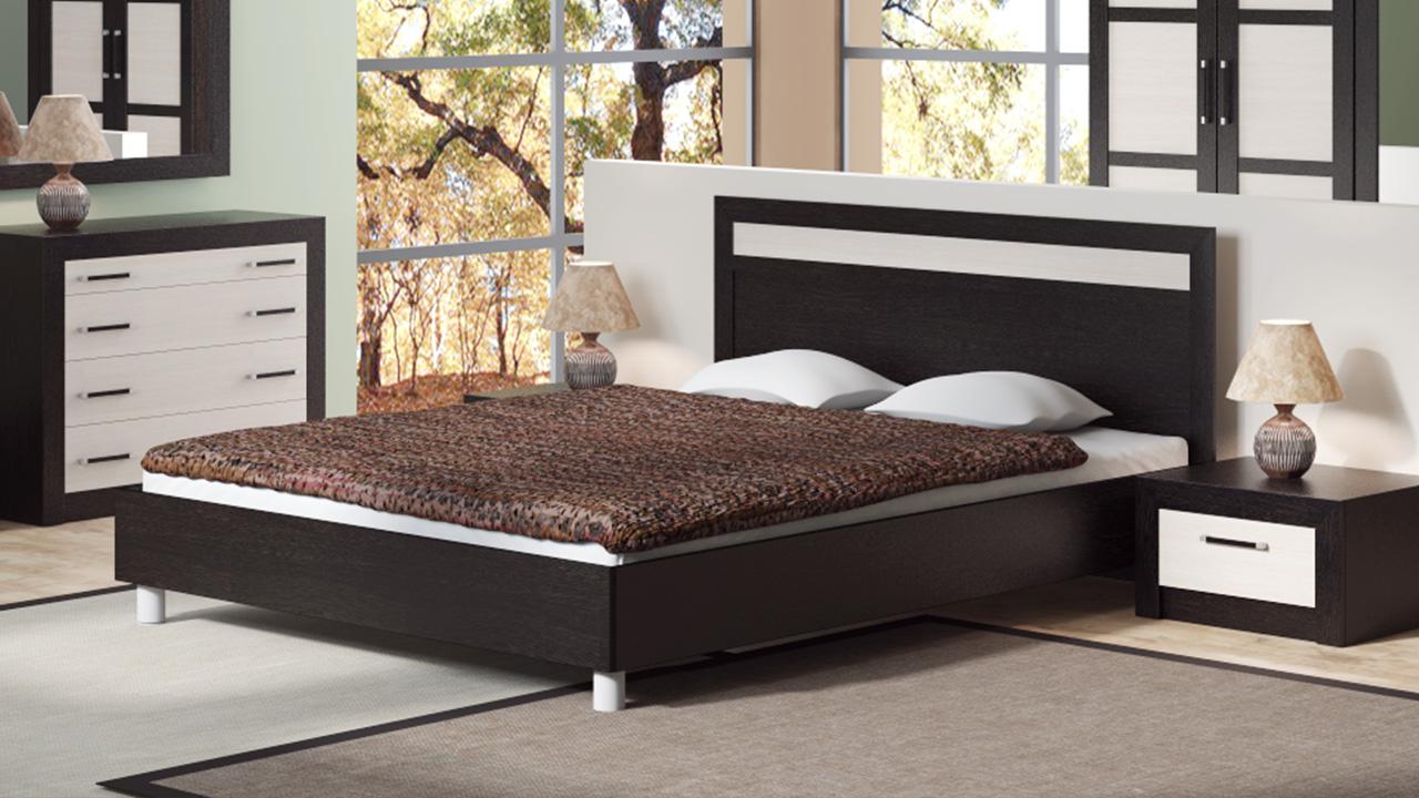 Виды двуспальных кроватей