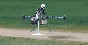 В Дубае показали летающий мотоцикл Flike Tricopter