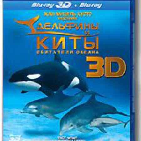 Купить Дельфины и киты: обитатели океана 3D и 2D (Blu-ray)