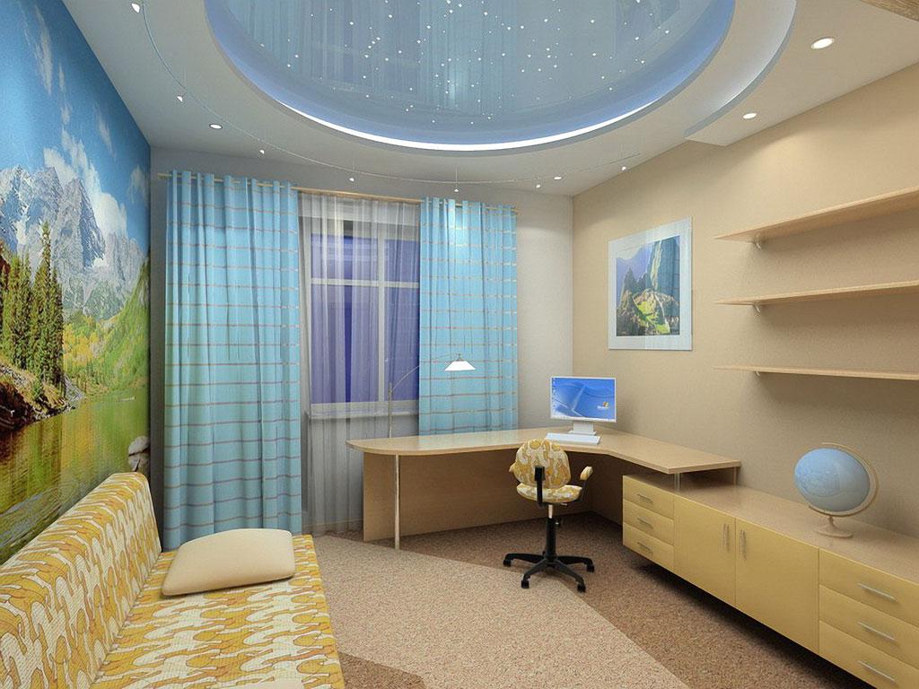 Простые интерьеры комнат фото