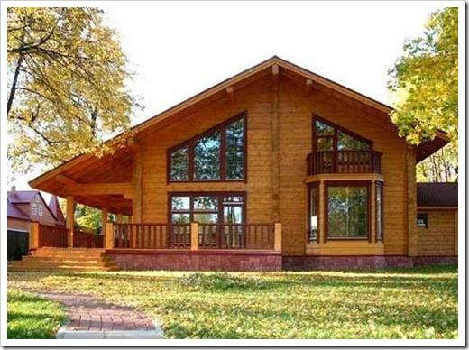 Защита деревянного дома от агрессивных влияний окружающей среды