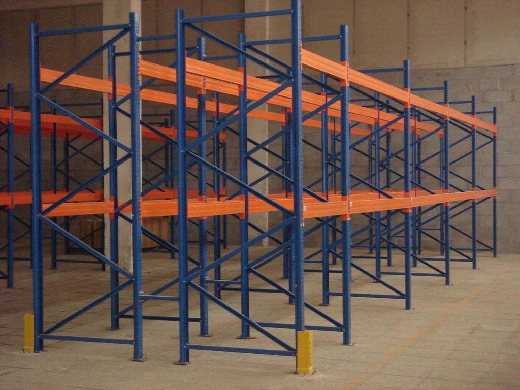 Виды стеллажей для склада