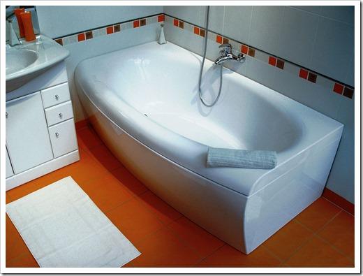 Акриловые ванны разных форм