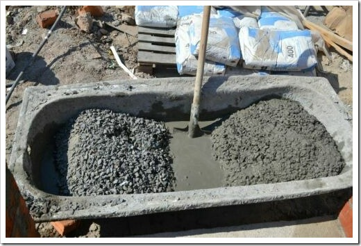 Что потребуется для приготовления бетона?
