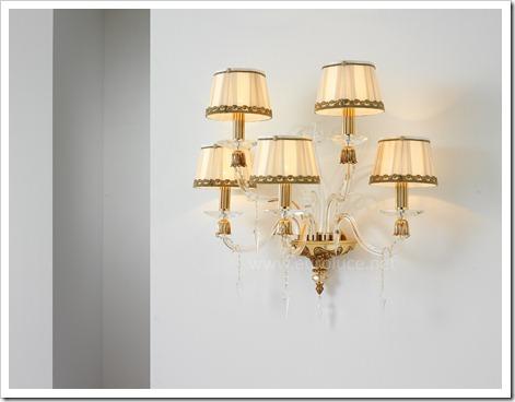 Преимущества настенных светильников