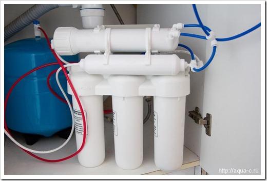 Подключение фильтра к водопроводу