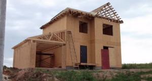 Как сделать каркасный дом