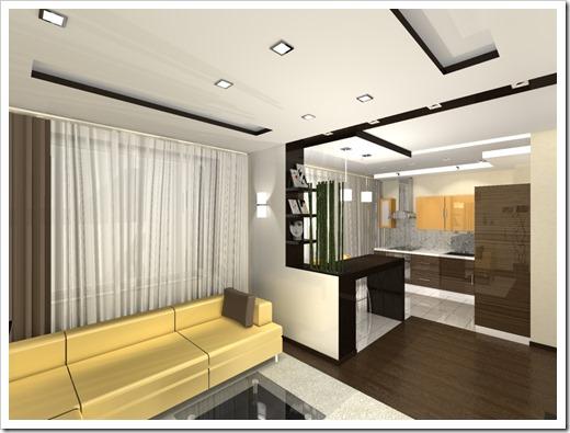 Тенденции в зонировании многокомнатных квартир