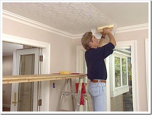 Отделочные материалы для потолка