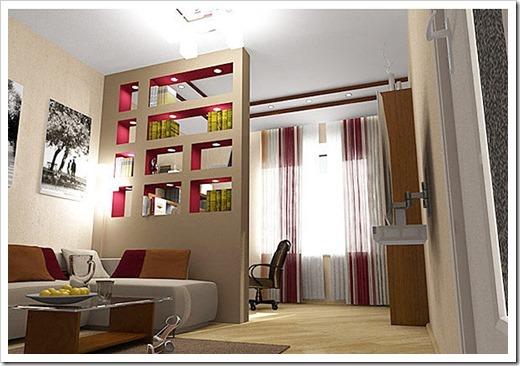 Зонирование многокомнатных квартир