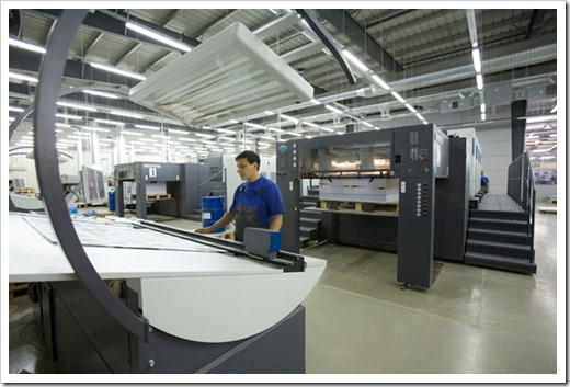 Особенности использования технологии листовой печати.