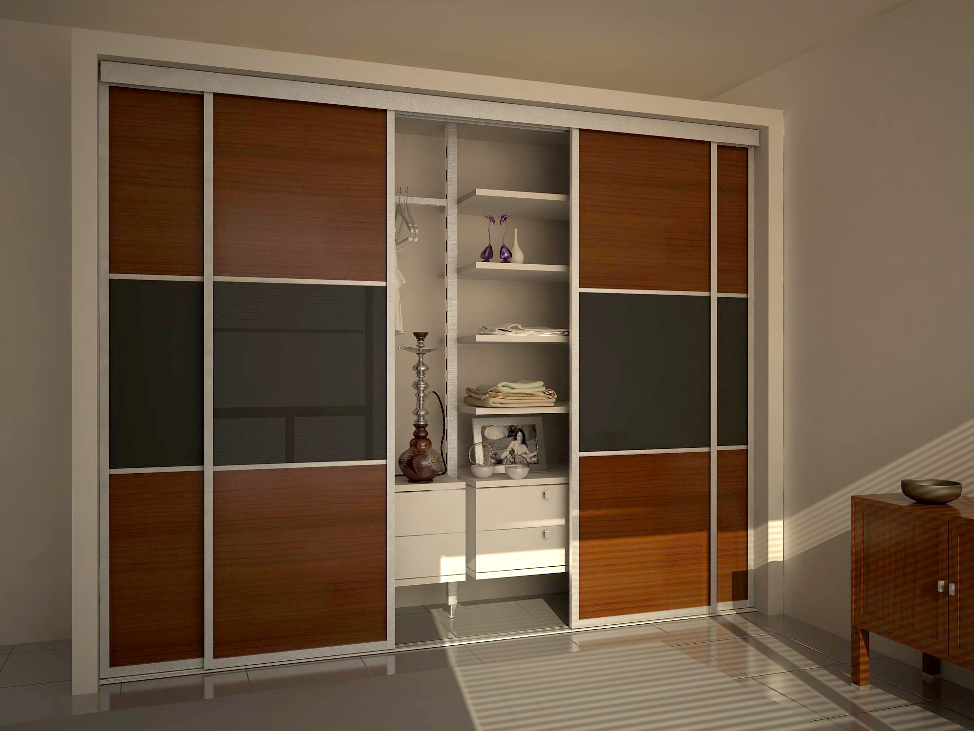 Как сделать шкаф купе в домашних условиях