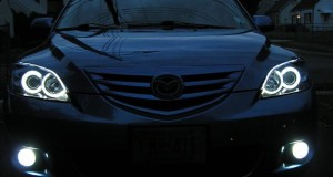 Ангельские глазки на авто