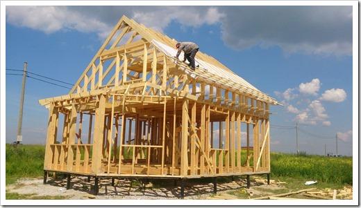 Самостоятельное строительство каркасных домов