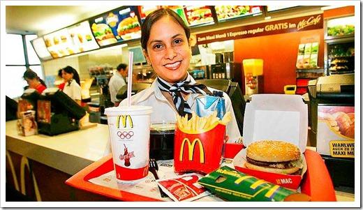 McDonalds - плюсы и минусы работы