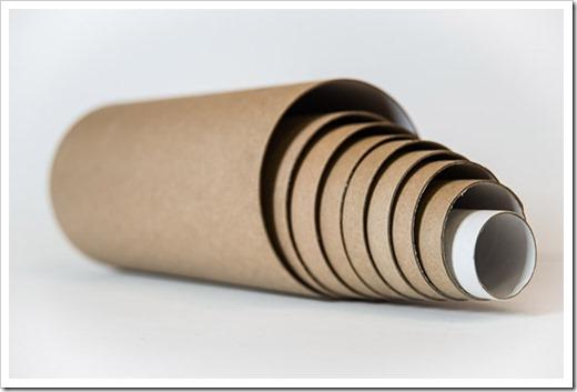 Производство картонных втулок