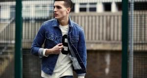 парень в джинсовой куртке