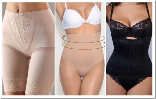 Виды корректирующего белья для женщин