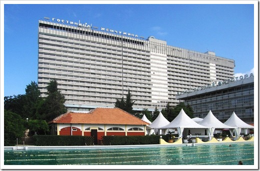 Средняя цена на номер в отеле в Сочи