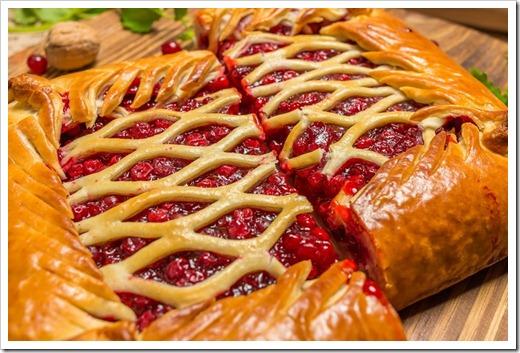 Вкус пирога достигается через начинку