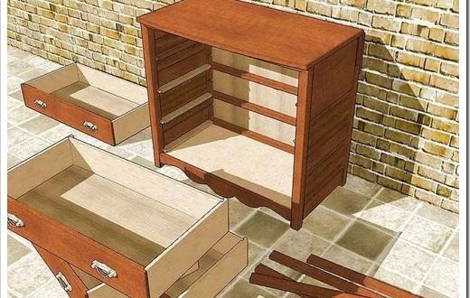 Мебель своими руками с выдвижными ящиками