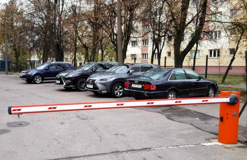 Как оградить парковку