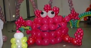 Что можно сделать из воздушных шаров