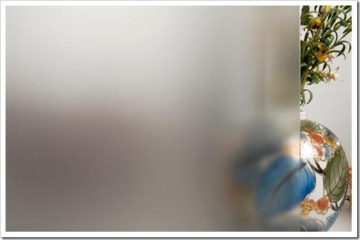 Как выполняется химическое матирование стекла?