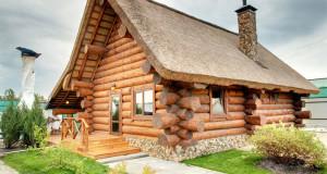 Как поэтапно построить баню из бревен