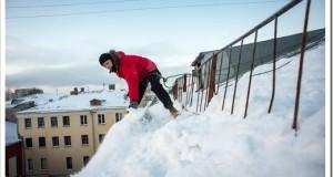 Как происходит чистка снега?
