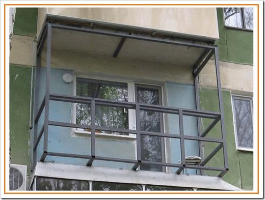 Сварка балкона – расширение с остеклением