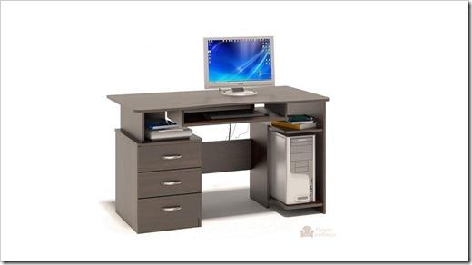Разновидности компьютерных столов