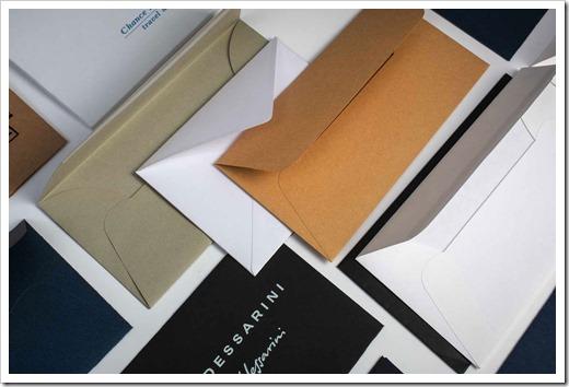 Стандартные размеры брендированных конвертов